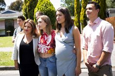 Friday, April 7: Terese, Piper, Paige and Jack watch on as Lauren and Brad leave - DigitalSpy.com