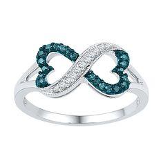Littman Jewelers | 1/6 ct. tw. Diamond Infinity Ring #LittmanJewelers #GiftsThatDelight