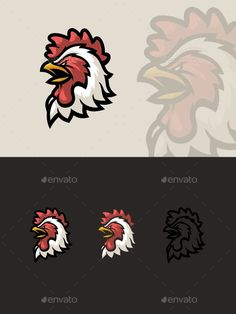 #Angry Rooster Mascot - #Animals #Characters Download here:  https://graphicriver.net/item/angry-rooster-mascot/19723508?ref=alena994