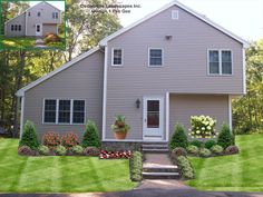 Frontyard Colonial Home With Japanese Maple Tree Taunton