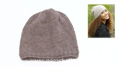 How to knit the hat in DROPS 173-11