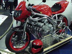 Racing Motorcycles, Custom Motorcycles, Custom Bikes, Cb 1000, Street Fighter Motorcycle, Honda Cbx, Old Bikes, Classic Bikes, Super Bikes