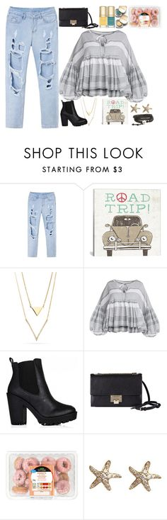 """""""Road Trip"""" by luckystrawberry ❤ liked on Polyvore featuring iCanvas, Jimmy Choo, Dolce&Gabbana, CO and Annoushka"""