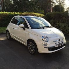 Nice Fiat 2017: Fiat 500 1.2 Lounge 3dr (start/stop) Check more at http://24cars.top/2017/fiat-2017-fiat-500-1-2-lounge-3dr-startstop/