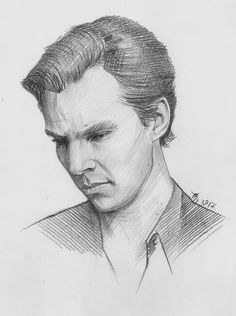 Benedict Cumberbatch, Sherlock Holmes Benedict, Sherlock Bbc, Sherlock Tumblr, Art Drawings Sketches, Pencil Drawings, Marvel Drawings, Sherlock Drawing, Academic Art