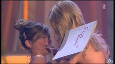 [HQ] - Michelle & Tochter Marie - Dankesrede - Gib nicht auf - 13.10.2012