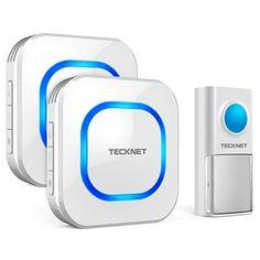 Doorbell Led Door Bell Wireless Doorbell Battery Powered 32 Tune Songs 1 Remote Control 1 Wireless Home Security Smart Doorbell Exquisite Craftsmanship; Door Intercom
