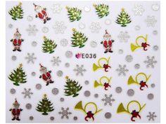 Condividi i nostri prodotti avrai uno sconto del 5 %,fai sapere che ci sei Nail Sticker Natale mod036 #originalnail