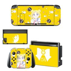 Sailor Moon Decal Nintend Switch Skin NintendoSwitch stickers Compatible for Nintend Switch Console and Joy-Con Controllers Nintendo Switch Package, Buy Nintendo Switch, Console Styling, Sailor Moon, Games To Play, Brand Names, Usb, Bluetooth, Decal