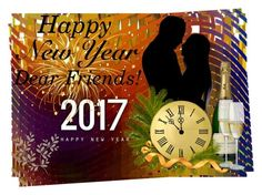 """""""Happy New Year, Dear Friends!!!"""" by giovanina-001 ❤ liked on Polyvore featuring art"""