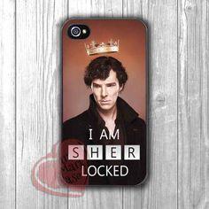 Sherlock Holmes Quote Sherlocked - dz for iPhone 4/4S/5/5S/5C/6/6+s,Samsung S3/S4/S5/S6 Regular/S6 Edge,Samsung Note 3/4