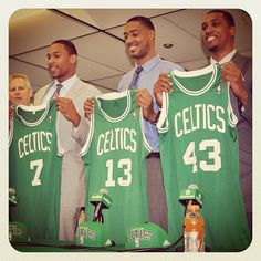 Welcome to Boston: Rookies Jared Sullinger, Fab Melo and Kris Joseph