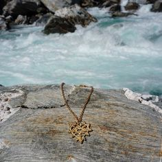 Our Honey necklace goes for an adventure in the wild South Island NZ.  #gold #honey #jewellery