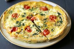 Our Spinach and Mozarella Fritatta is delicious and healthy! This slow cooker recipe combines mozzarella cheese, garlic, spinach, and eggs to create a savory and filling recipe.