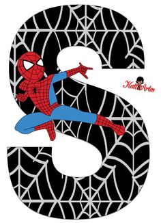 free-printable-spiderman-alphabet-020.PNG (793×1096)