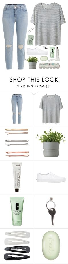 """Untitled #13"" by relativlegal ❤ liked on Polyvore featuring J Brand, T By Alexander Wang, Madewell, Market, Rig-Tig by Stelton, Korres, Vans, Clinique, Maison Margiela and Forever 21"