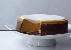 Pumpkin cheesecake with marshmallow toppings   iVillage UK
