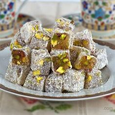 Try it and let our tongue taste sweet Fantastic Turkish Delight Recipes - Nutella 2019 Turkish Delight, Best Pie, Flaky Pastry, Mince Pies, Turkish Recipes, Recipe Images, Homemade Cakes, Cake Recipes, Food And Drink