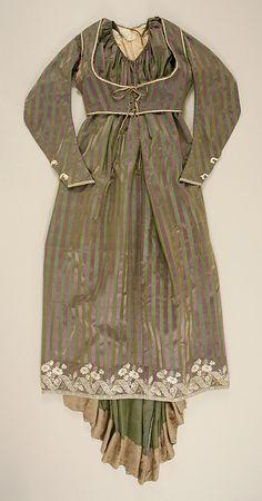 Round gown 1795 Italian