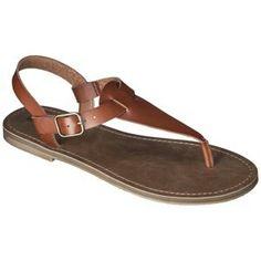 Cognac Sandal Target