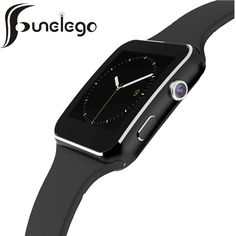 Funelego X6 Smart Watch Phone With SIM Card Camera WristWatch Bluetooth Intelligent Clock For Apple Android phone SmartWach #Affiliate