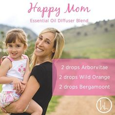 I thought I would share my Happy Mom recipe. We all know it can be stressful…