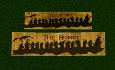 Lord Of The Rings Sign, LOTR, The Hobbit, Fellowship