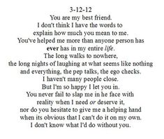 Read these super inspiring best friendship quotes, Top Friendship sayings and strong women quotes Dear Best Friend Letters, Thank You Best Friend, Best Friend Texts, Happy Birthday Best Friend Quotes, Thank You Friend Quotes, Best Friend Birthday Letter, Guy Best Friend Gifts, Quote Friends, Best Friend Quotes For Guys