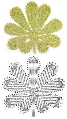 charts for several complex leaves in irish lace crochet. - still want to figure out a grape leaf.  Any takers?