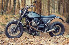 'Terra Moto' Moto Guzzi Bellagio Scrambler – Officine Rossopuro