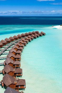 The Maldives is a perfect honeymoon destination or beach getaway. Stay in a water villa in a luxury resort and enjoy beaches from paradise. Click to see the top 15 luxury hotels in the Maldives