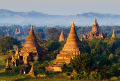 Bagan, Myanmar isn't the easiest spot to visit, but it's worth it. Photo courtesy of Shutterstock.