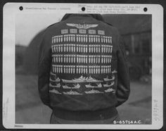 A-2 Bomber Jacket Art (WWII) - WAR THEATRE via RetroWaste.com #WWII #vintagebomberjackets