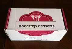 Doorstep Desserts Subscription Box Review + Coupon -May 2016 - Read my review of…