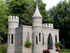 Download 3D House Printer - Concrete Castle by Misha Tikh - MyMiniFactory.com
