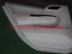 Used 2012 Honda Civic 4DR Rear driver DOOR PANEL,GRAY  . Purchase from http://www.ahparts.com/buy-used/2012-Honda-Civic-Trim-liner-4DR-Rear-driver-DOOR-PANEL-GRAY/55703-1?utm_source=pinterest