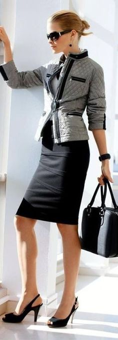 fall-and-winter-office-outfits-3-2 83+ Fall & Winter Office Outfit Ideas for Business Ladies 2018