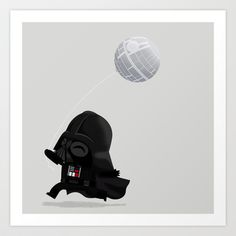 Beware, the Darth Star Art Print by Muddybeats @Cyndie Gastelum this is what I told you about