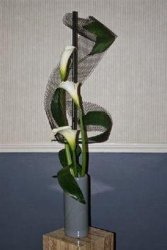 New Garden Club Journal. Multi rhythmic flower arrangement. # flower arrangement