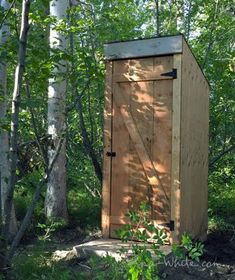 Ana White | Build a Simple Outhouse | Free and Easy DIY Project and Furniture Plans