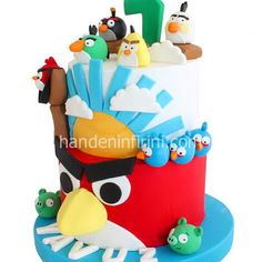 Angry Birds Pasta, Angry Birds Cake