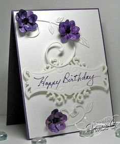 Birthday Swirls (FG) by Francie G. - Cards and Paper Crafts at Splitcoaststampers