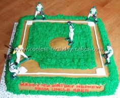 Coolest Homemade Baseball Cake Ideas, Photos and How-To Tips