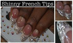 Stella's Addiction: NOTD: Shiny French Tips Nail Art