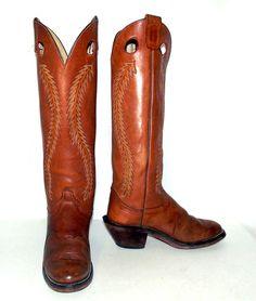 Vintage Tall Western Buckaroo Olathe Cowboy by honeyblossomstudio
