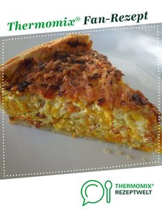 Pumpkin quiche from Mousse. A Thermomix ® recipe from the baking category is hearty at www.de, the Thermomix ® community. pumpkin quiche Claudia Hussmann 1509 Pumpkin quiche from Mousse. A Thermomix ® recipe from the baking ca Mousse, Pumpkin Quiche, Lacto Vegetarian Diet, Le Diner, Vegetable Drinks, Healthy Eating Tips, Base Foods, Pizza Recipes, Baking Ingredients