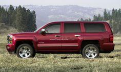 2014 Chevrolet Tahoe  | 2014 Chevrolet Tahoe rendering — تصور شيفروليه تاهو ...