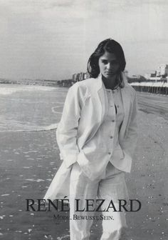 Rene Lezard S/S 1992Model: Helena Christensen