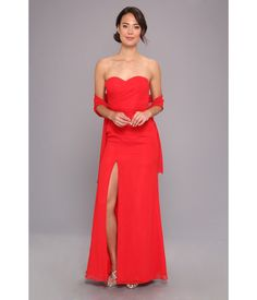 Dress for the occasion in this sophisticated Faviana™ gown. Strapless gown is fabricated from air. Chiffon Gown, Strapless Dress Formal, Formal Dresses, Bridesmaid Dresses, Gowns, Mom, Color, Style, Fashion