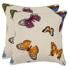 I pinned this Jody Pillow (Set of 2) from the Safavieh event at Joss and Main!